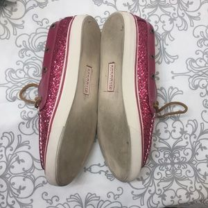 Sperry Shoes - 🌿Sperry Topsider Pink Sparkle Boat Shoe